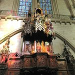 The wooden pulpit (1855)