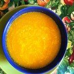 pumpkin soup to start