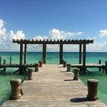 The Pier outside Indigo Beach Club