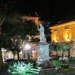 Piazza San Antonino at night