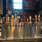 100+ tap beer at Henery's Tavern, Portland OR