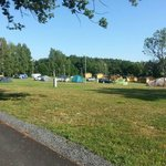 Places for tents and caravans
