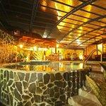 heated water, swimming pool.