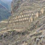 Ruinas na montanha