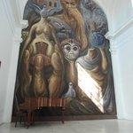 Mural in the Museo Pantaleón Panduro del Premio Nacional de la Cerámica