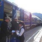 Embarque Perurail