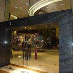 Christmas at Intercontinental KL - entrance doors