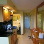 Kitchenette in Ocean Suites