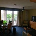 Living room in Ocean Suites