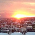 Beautiful sunset views