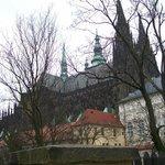 Castle rear view
