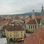 The view from Sopron's Fire Tower