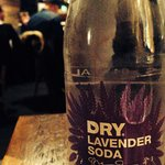 Lavender soda! Super yummy!
