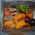 Duck Confit with fresh Peaches & Figs
