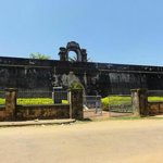 Anjengo fort Front View