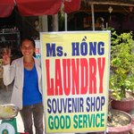 Friendly and helpful Ms Hong
