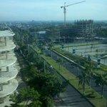 Proyek disamping hotel,diseberang Park Mall