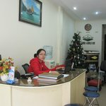 Hanoi Family Inn reception