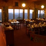 Lodge Dining Room with it's spectacular views