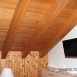 Nice wooden ceiling