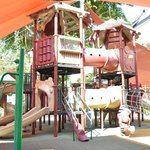 Big playground at the kids club
