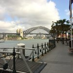 Sydney Harbour with Oyster Bar in background