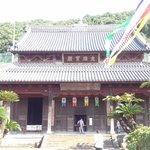 唐風のお寺。