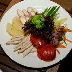 Sauna - Meat plate