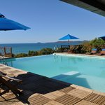 La piscina dell'albergo .... strepitosa con un paesaggio mozzafiato!