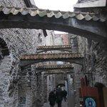 Beautiful archway towards Müürivahe street