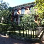 """Mercer Williams House - site of """"Midnight in the Garden of Good and Evil""""."""