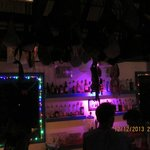 "The bar at ""Mad Monkey Hostel"""