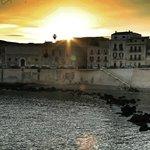 Sunset over Ortigia