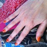 manicure... not my taste
