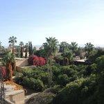 Il panorama dalla terrazza del Chez Nada