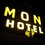 L'insegna dell' hotel