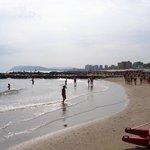 La spiaggia di Misano