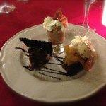 Dessert très fin, pas trop sucré, top !