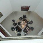 vue du troisieme du hall d'entrée