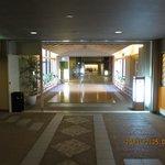 ホテルの渡り廊下「琴参道」