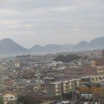 部屋からの景色 讃岐富士を望む