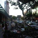 Dingxi Road devant le Penta hôtel
