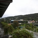 View of Stresa from Hotel Room -- Rear of Building