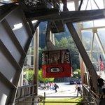 Mt. Roberts Tramway lifting off