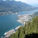 View of Juneau from the top