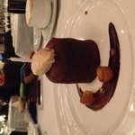 Chocolate molten cake!