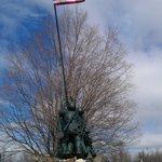 Iwo Jima Survivors Memorial Park in Newington Connecticut
