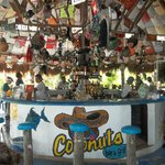 This was a stop along our trip along the coast, Coconuts Bar