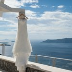 Figaro honeymoon suite deck view