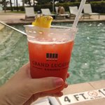 MMM Rum Punch poolside